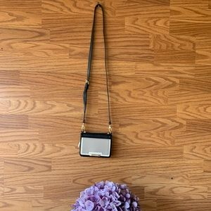Vince Camuto Black Leather Crossbody
